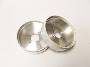3mm width vitrified diamond grinding wheel for PCD