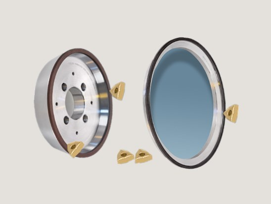 Peripheral Diamond Grinding Wheel for Indexable Inserts