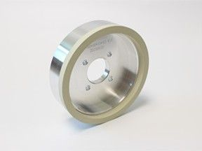 10mm width vitrified diamond grinding wheel for PCD