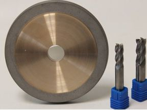 Diamond Flute Grinding Wheel for Carbide Round Tools