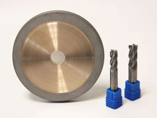 Diamond Flute Grinding Wheel for Carbide Tools