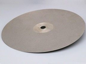 #60 - #3000 Diamond Coated Flat Lap Disc Lapidary