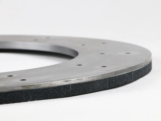 Vit CBN Grinding Wheel for Cleaning Up the End of Shaft