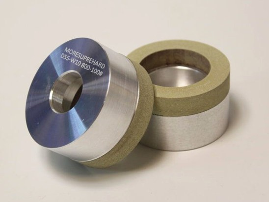 Which dressing wheels are used for dressing PCD grinder wheel