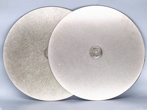 diamond coated flat lap disc lapidary