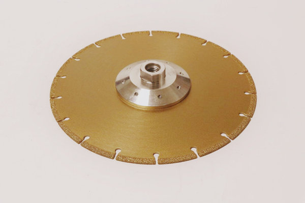 Vacuum blazed diamond grinding wheel