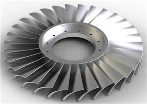 Ti-alloy integrated blisk for test