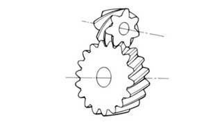 Staggered Helical Gear