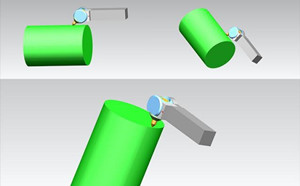 Rolling can not improve the shape and position accuracy of the parts