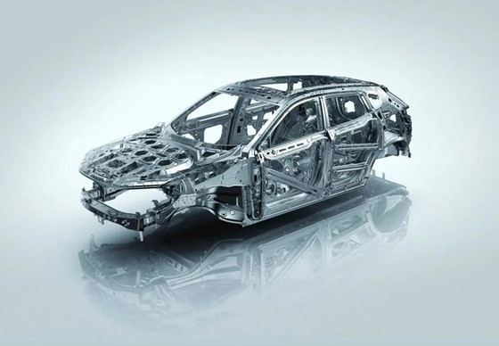 Application research of aluminum alloy in automotive lightweight field