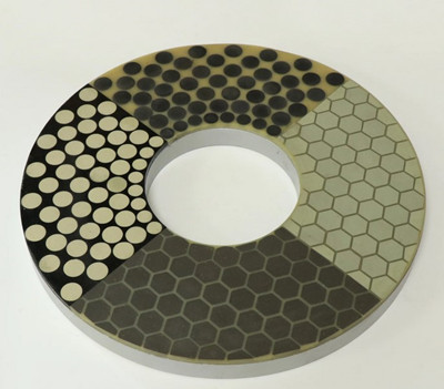 Vitrified bond Diamond & CBN lapping plate.