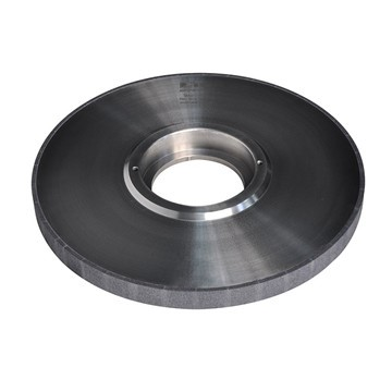 CBN grinding wheel in grinding process