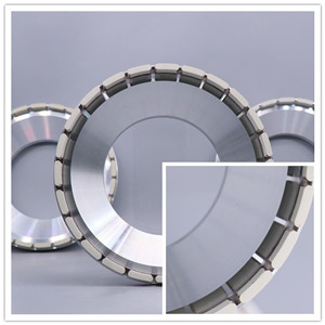 chip thinning Grinding wheels