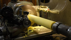 grinding wheel grinding more accurate than turning or milling